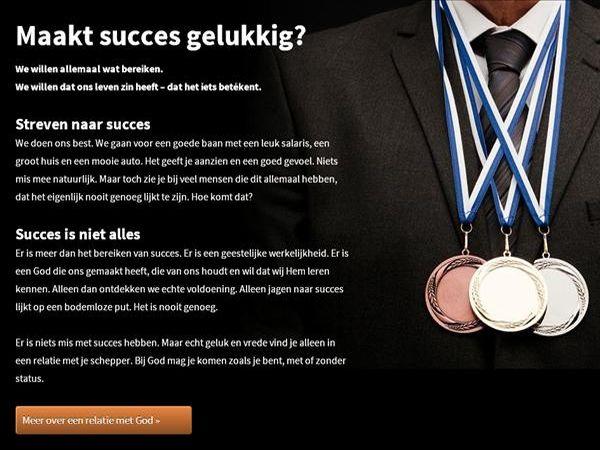 Maakt succes gelukkig?