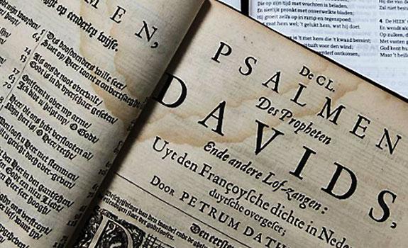 oud psalmboek