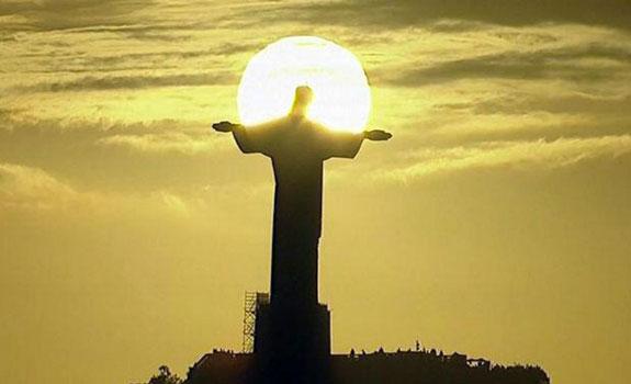 Rio Christusbeeld avondzon