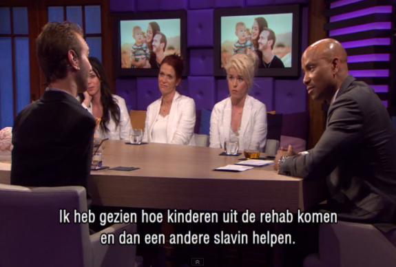 Nick Vujicic RTL Late Night